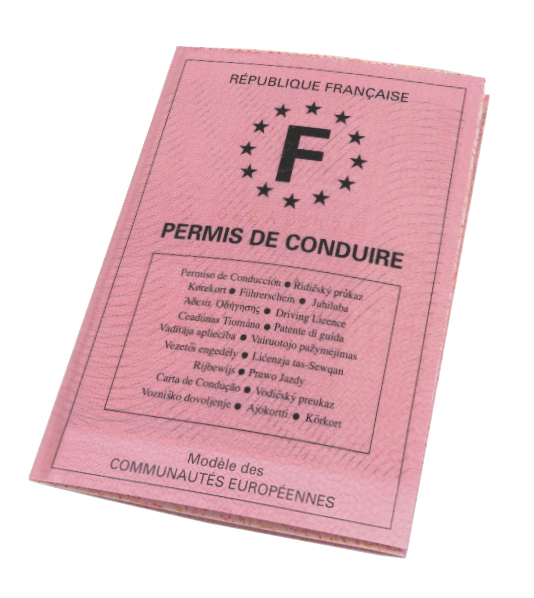 French Drivers License