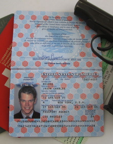 US 1990s Passport (OUT OF STOCK)