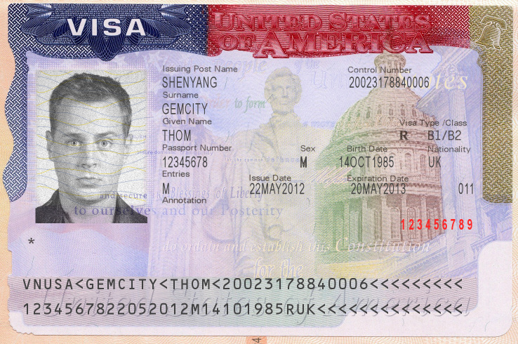 Visa Sticker (US)