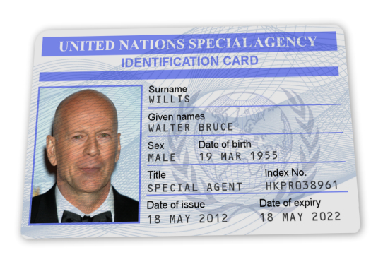 United Nations ID Card