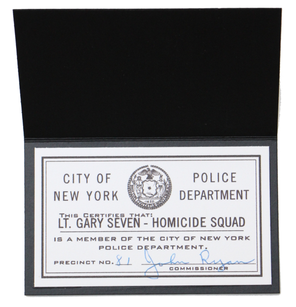 Vintage NYPD ID Card