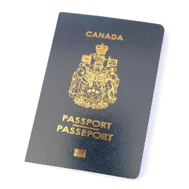 Canadian Passport 2013