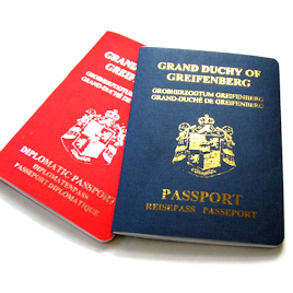 Mock Passport