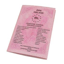 Irish Drivers License