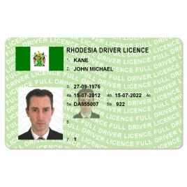 Rhodesia Driver Licence