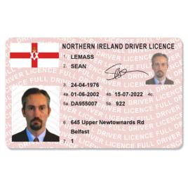 Northern Ireland Driver Licence