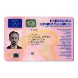 Austrian Drivers License
