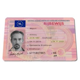 Dutch Drivers License