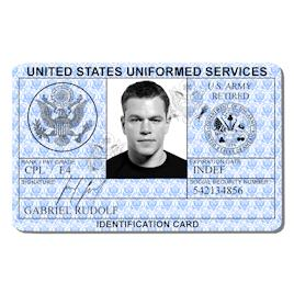 US Uniformed Services ID
