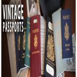 Vintage Passports